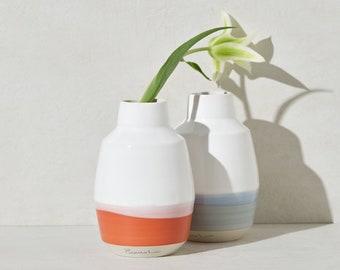 Carafe, water pitcher, bottle in ceramic made in Canada