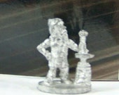 Rare Vintage Dungeons And Dragons Metal Miniature D D Mini Dwarf Blacksmith Anvil Fantasy Role Playing Game Fun
