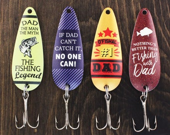 Gifts For Dad Fishing Birthday Gift Him Under 25 Christmas Stocking Stuffer Lures