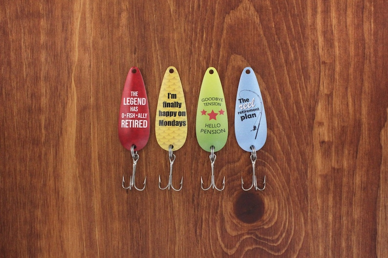 Retirement fishing lures