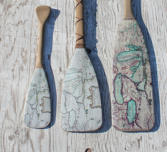 Nautical Wall Decor Oars: Beach Decor 48 Wooden Oar Coastal Decor Nautical