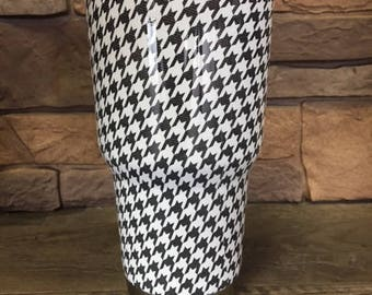 Small Houndstooth Cup