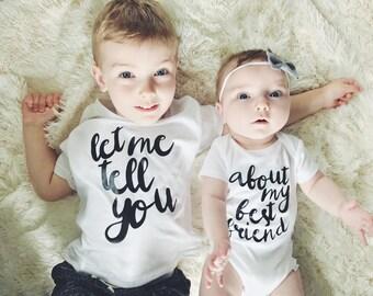 Funny Sibling Shirts Etsy
