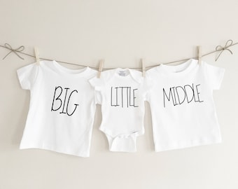 03f292c9daf Big Little Middle Tshirt