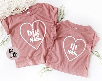 23fcf8cf4 Big sister shirt, baby sister, sister shirts, sibling shirts, matching  shirts, sibling outfits, pregnancy announcements