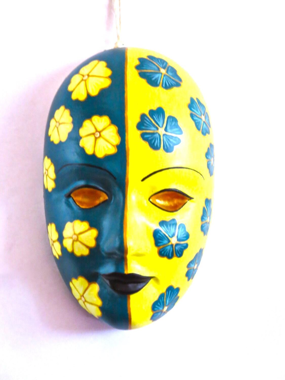 Wall Decor Plaster Mask Mardi Gras Mask Carnival Mask Mask | Etsy