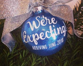 3d067da36b28 Baby Announcement Ornament