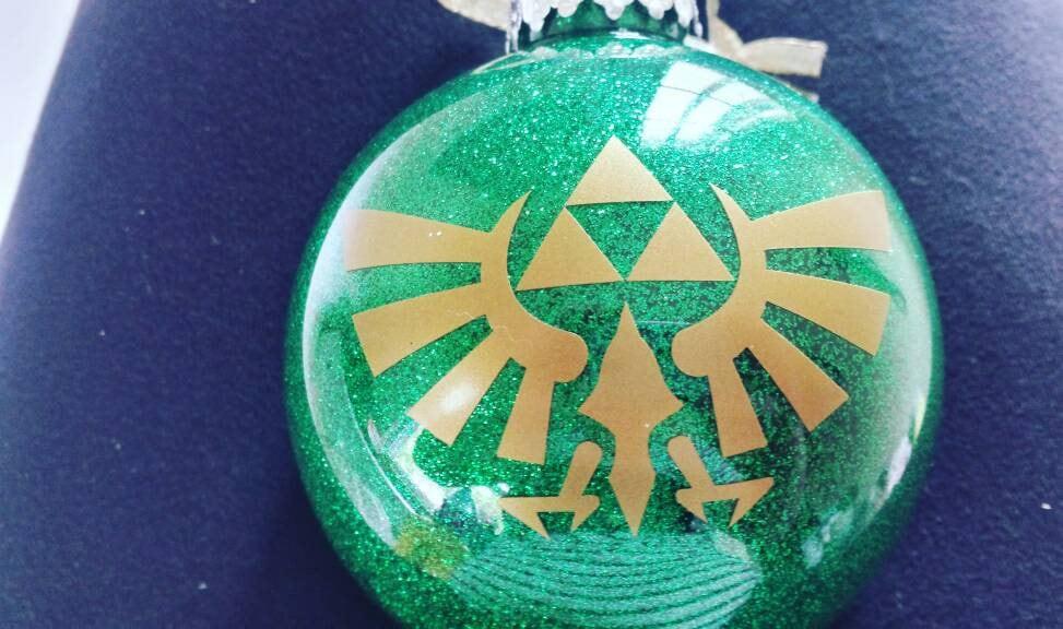 Zelda Ornament The Legend Of Zelda Ornament Christmas   Etsy