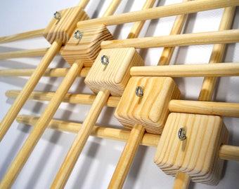 5 Baby mobile hanger  Wood frame Wooden frame for Baby Mobile  Diy mobile hanger Wood hanger