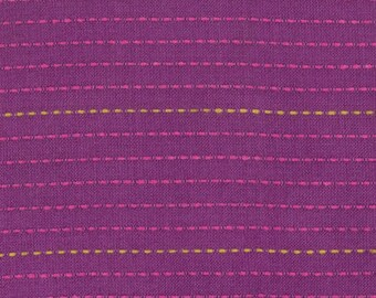 SALE! Anna Maria Horner Loominous Dotted Line in Eggplant