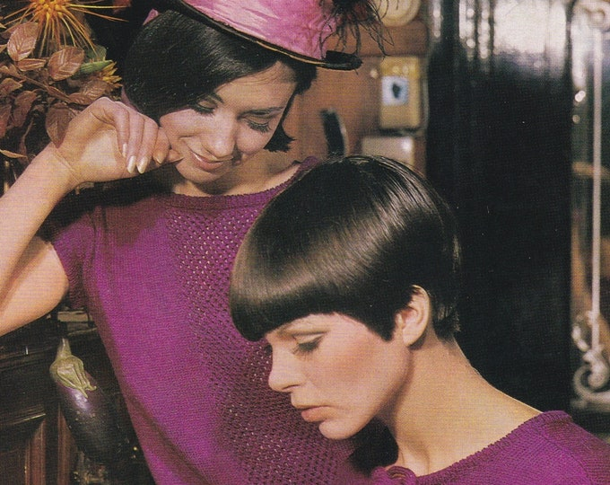 Womens Top Knitting Pattern PDF, Summer Sleevless Top, Sleeveless Jumper, Sleeveless Sweater, Vintage Knitting Patterns for Women