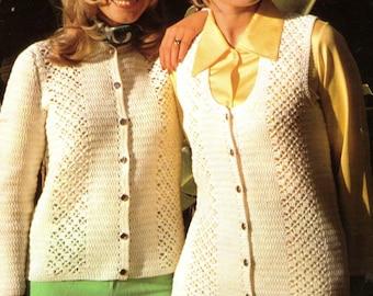 Crochet Gilet Etsy