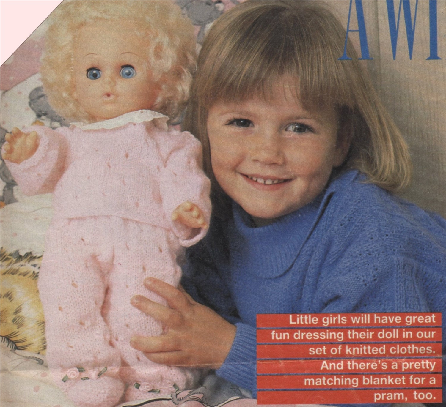 6d1ec1643 Dolls Clothes Knitting Pattern PDF for 14 inch Baby Doll