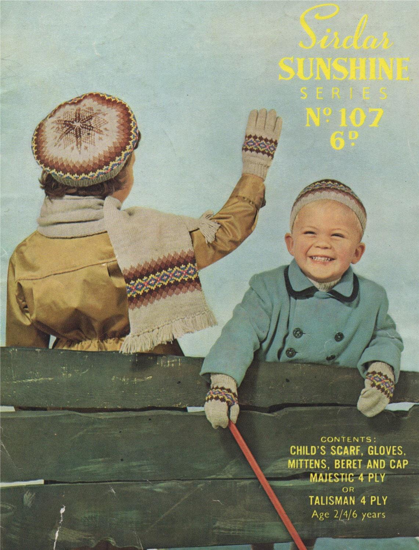 f35534179 Childrens Fair Isle Scarf
