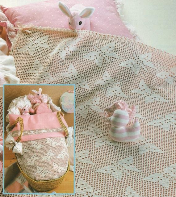 Babys Bettchen Tagesdecke häkeln Muster PDF Babyjungen oder | Etsy