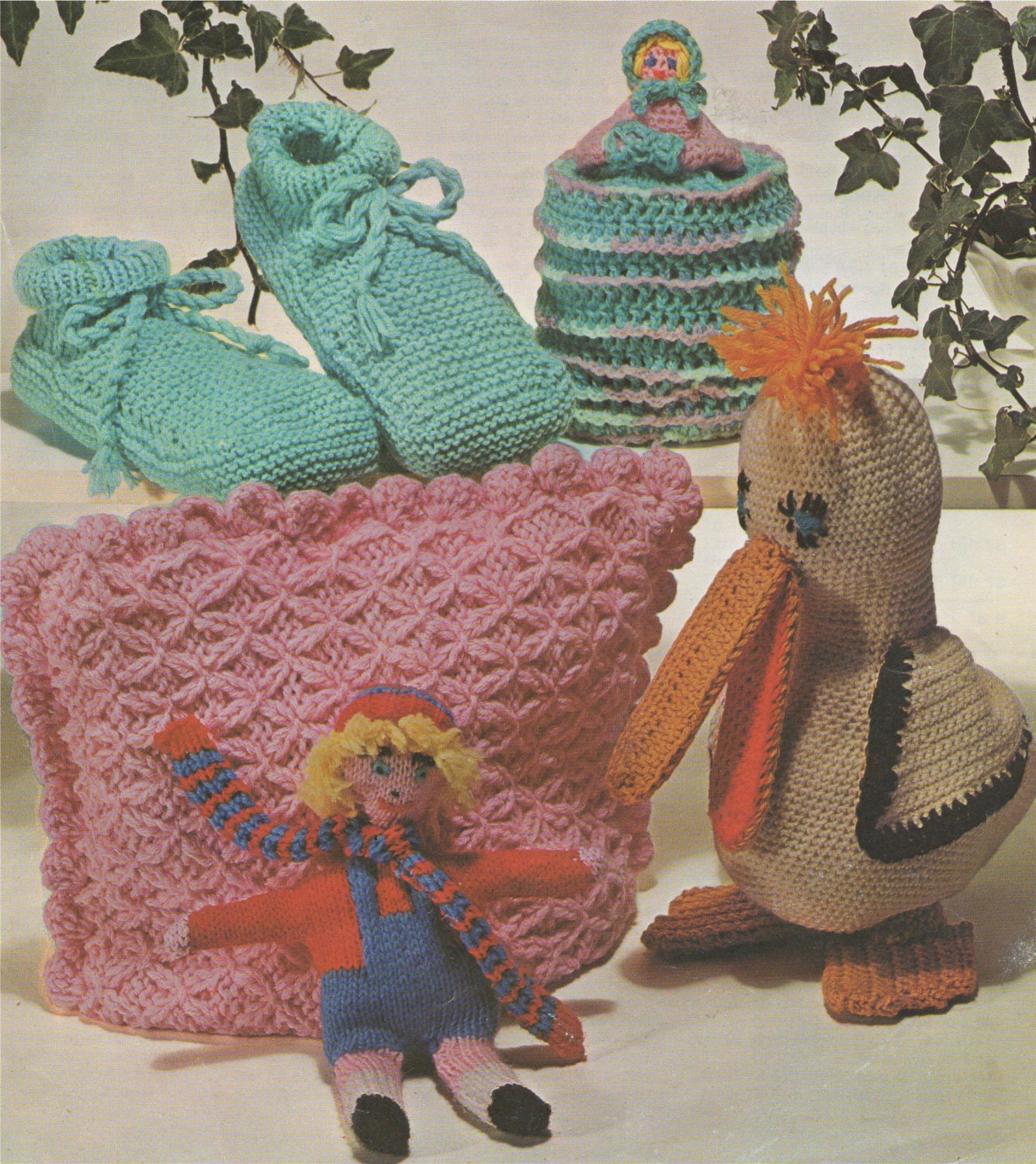 Duck Toy, Doll, Crinoline Lady Toilet Roll Cover, Tea Cosy, Slippers ...