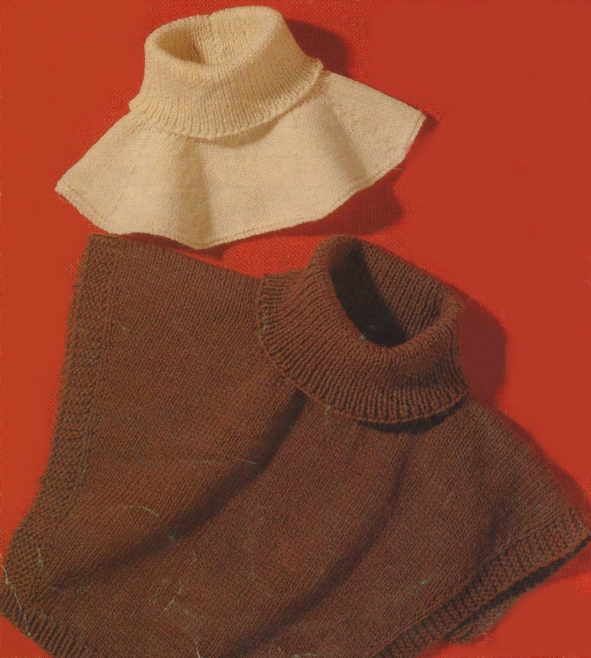 Womens and Mens Polo Neck Windcheaters - Collar Inserts PDF Knitting ...