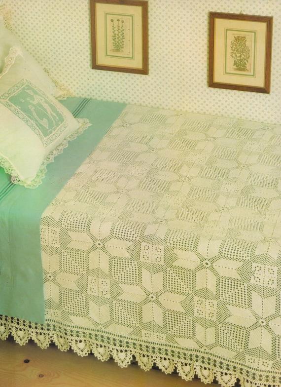 Tagesdecke häkeln Muster PDF Bettdecke Decke Schlafzimmer | Etsy