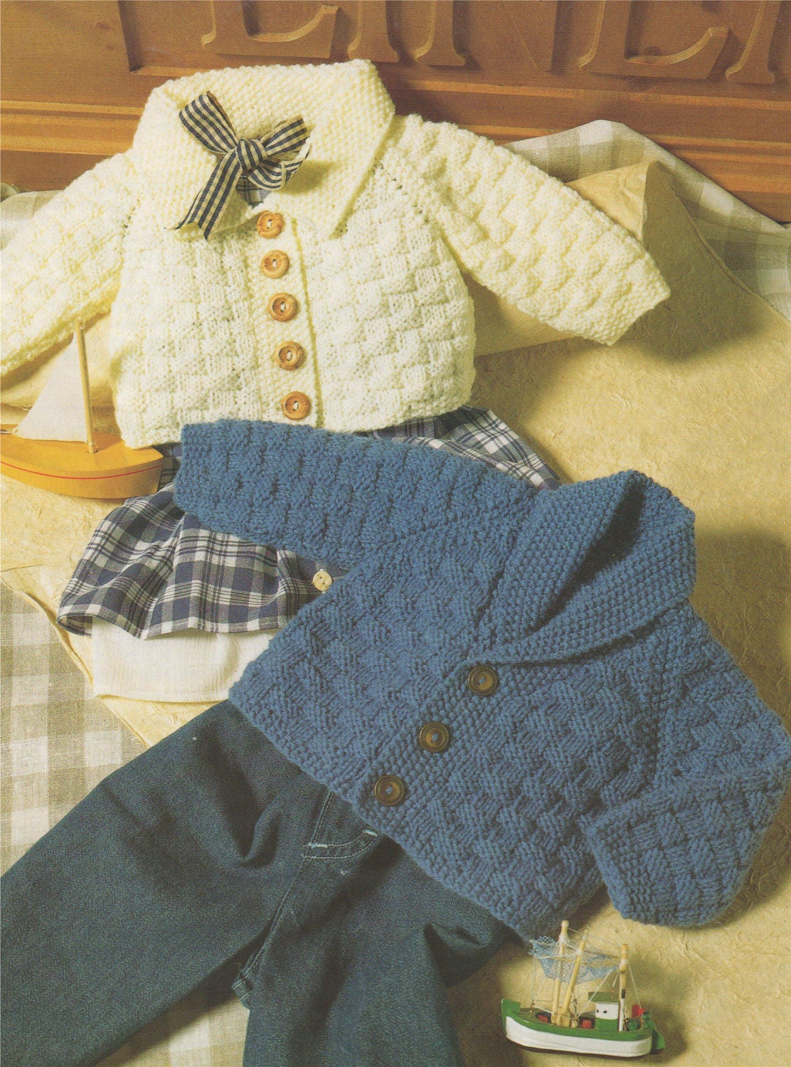 b07513f6dcaf Cardigan Knitting Pattern PDF Baby and Toddlers Boys or Girls 16