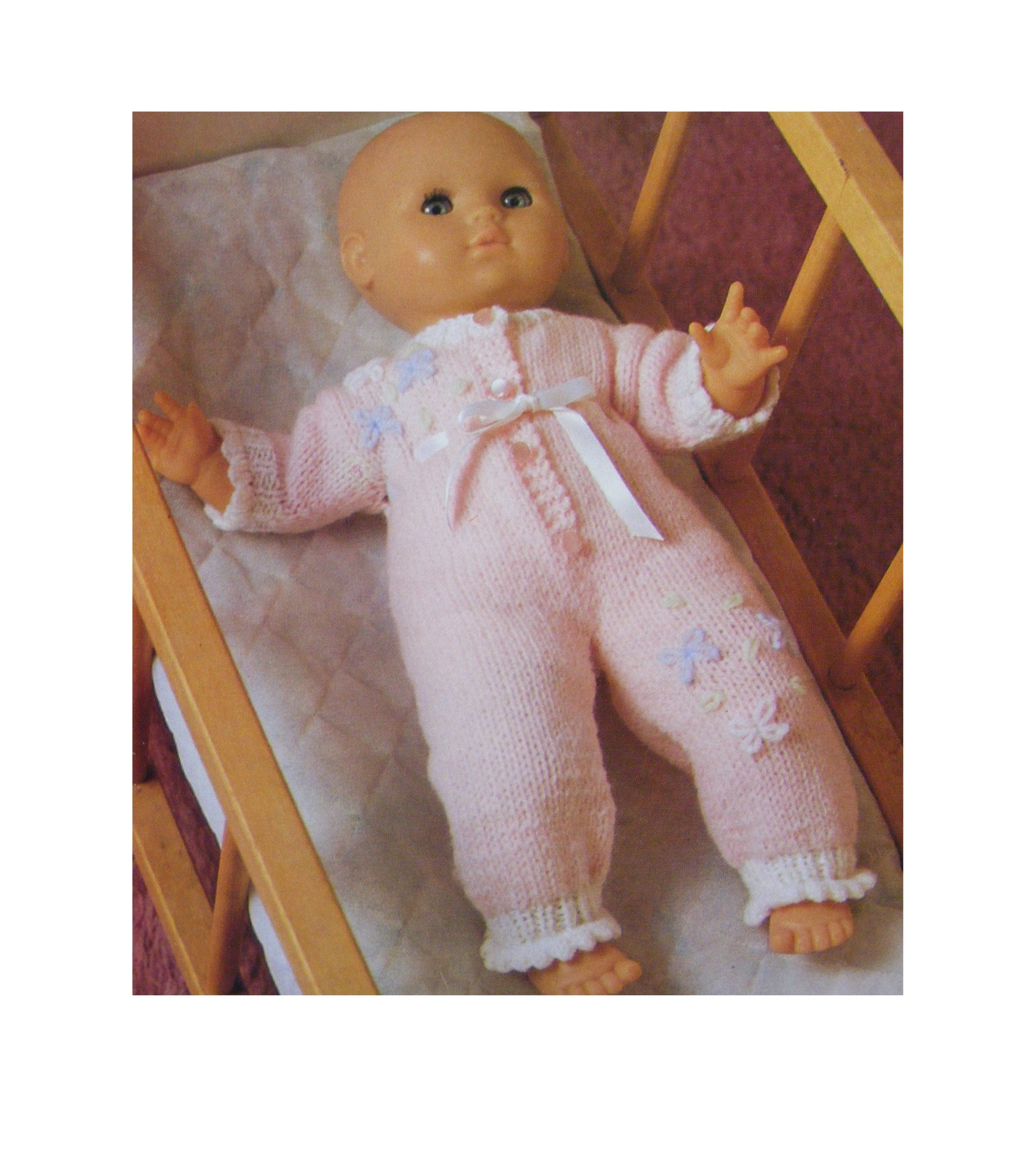 Dolls Clothes Knitting Pattern PDF for 16, 20 and 24 inch ...