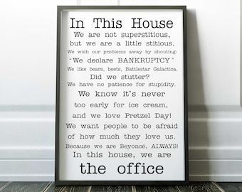 The Office Tv Show Etsy