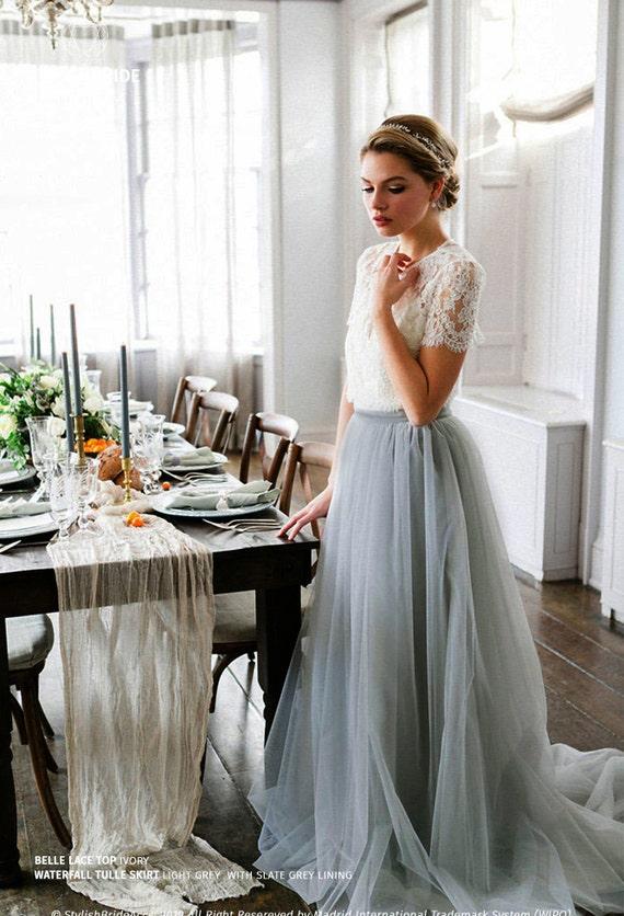 Custom order Bridal Tulle Skirt Boho Bridesmaids Tulle Skirts in 150 Colors Wedding Tulle Skirt Tulle skirt for henparty