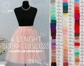Tulle Skirt Casual Women's,Green Pink Blush Nude White Lavander Red Tulle Skirt Bridal,Princess Women Fay Tulle Skirt,Wedding Tulle Skirt