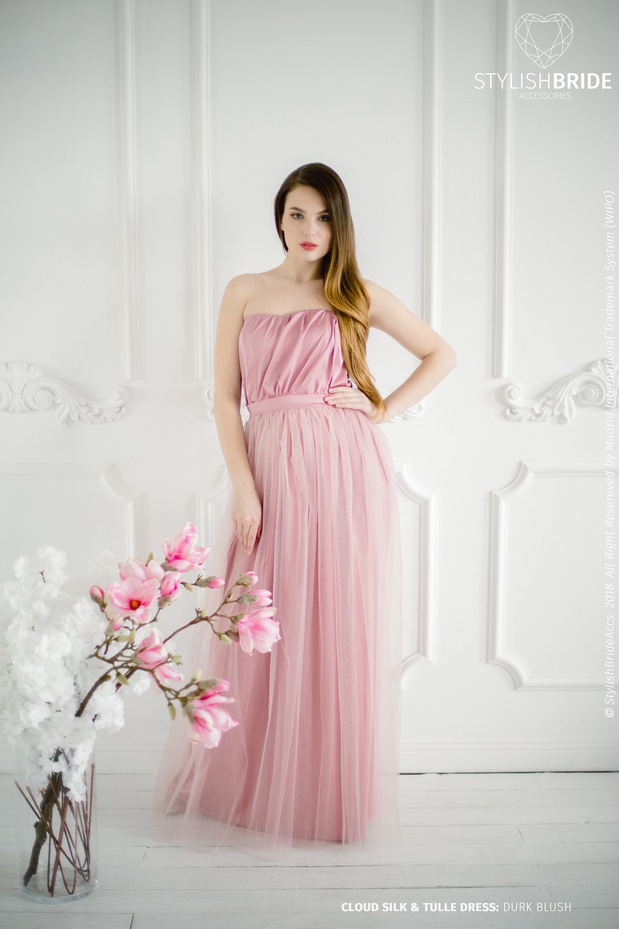57b154eac0 Blush Bridesmaid Dresses Under 100