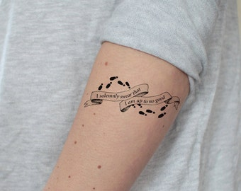 Harry Potter Tattoo Etsy