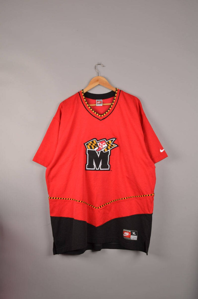 Vintage nike red tee vintage nike soccer jersey vintage nike  c1ab85d8f
