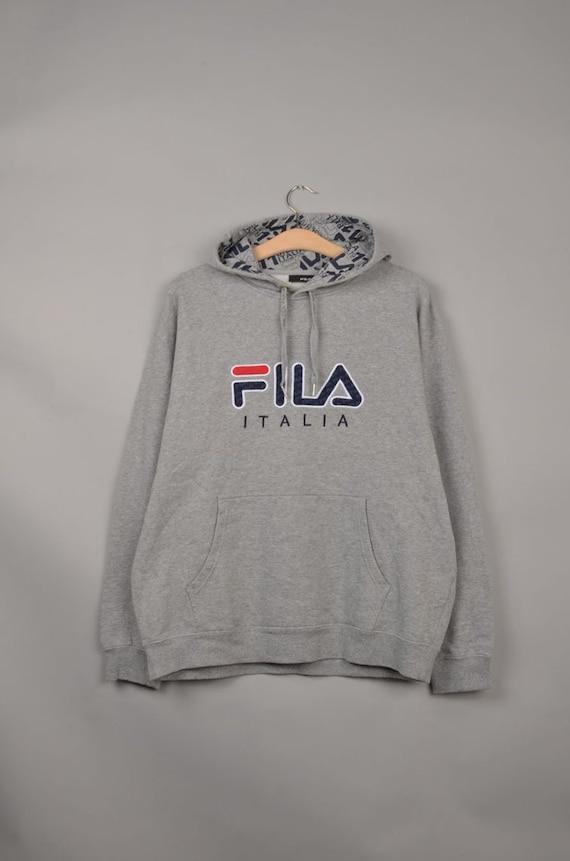 vintage fila italia spell out sweater, vintage fil
