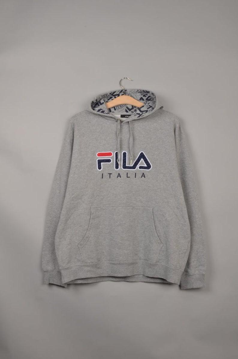 412bf0b01ae0 Vintage fila italia spell out sweater vintage fila | Etsy