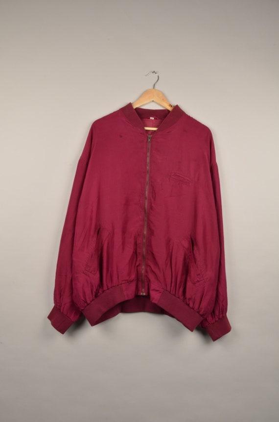 vintage silk bomber jacket, bomber jacket, silk ba