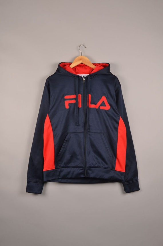 vintage fila spell out sweater, vintage fila windb