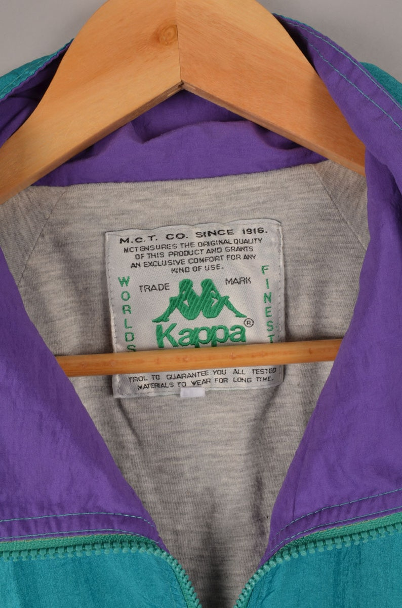 kappa stripe logo track jacket 90s kappa suit vintage windbreaker kappa clothing vintage kappa velour tape tracksuit 90s streetwear