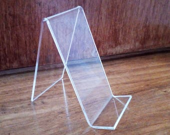 Acrylic table number holder, Clear wedding table sign stand, Wedding sign holder, Phone holder, Wedding table number holder, Table decor