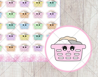 I014 - Laundry Stickers