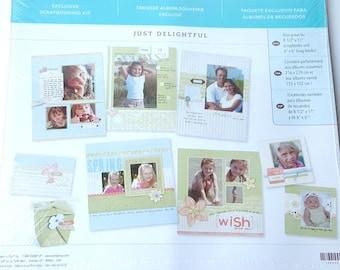 Just Delightful! Erin Condren TN Makse Happy Planner CottageShabby Chic Plum Plum ECV-0173-I B6 Planner Die Cuts Bundle
