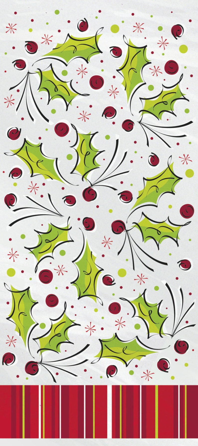 Christmas Cellophane Bags.Pack Of 20 Holly Pop Christmas Cellophane Bags Perfect For Homemade Christmas Gifts