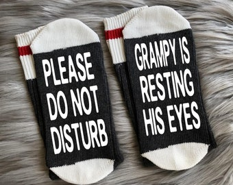 Grampy Socks Gifts For Grandpa Fathers Day New Dad Gift Birthday Idea Ideas