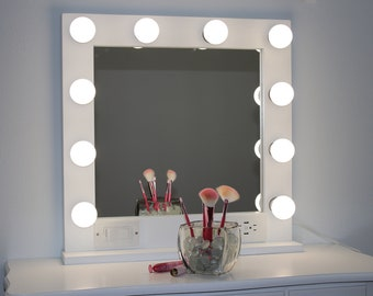 Lighted Mirror Etsy