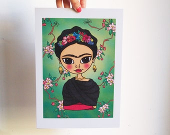 Print Frida Kahlo