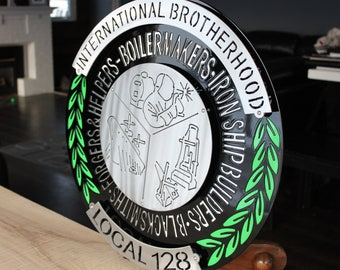Boilermaker Sign | Union Sign | Trade Signs