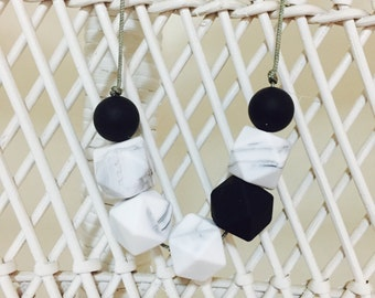 Class~  necklace 100% silicone BPA free  gift nursing safe