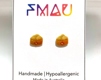 Dim sum handmade hypoallergenic earrings mini food yum cha chinese  jewelry jewellery gift idea girl cute fun   international