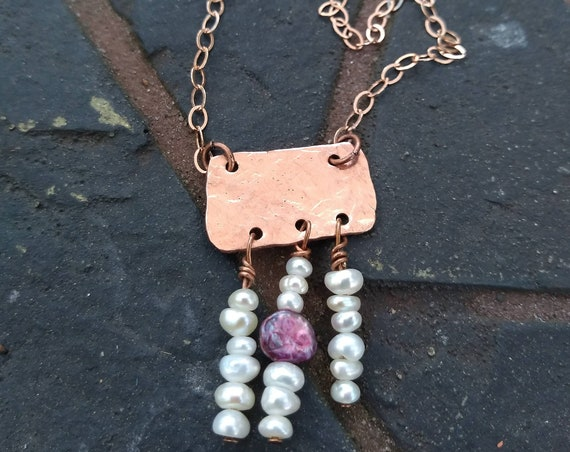 Delicate Freshwater Pearl Necklace