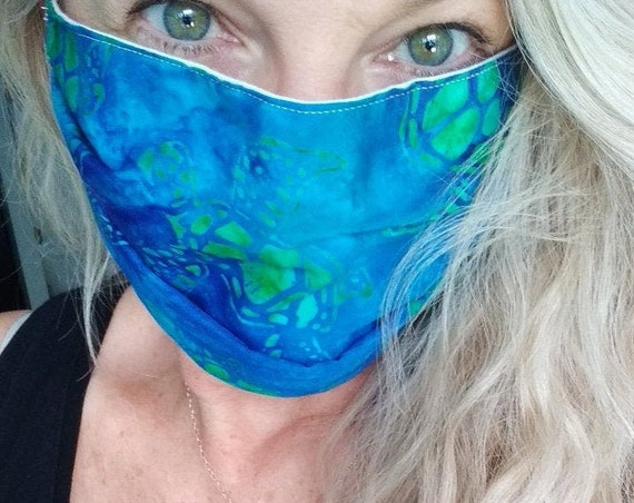 Hand-sewn Cotton Washable Mask
