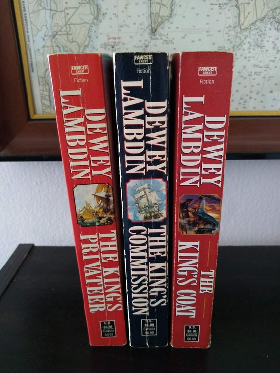 Dewey Lambdin - Alan Lewrie Series -  You Choose Title