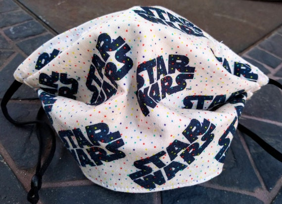 Star Wars Adjustable, Washable Facemask with Nose wire