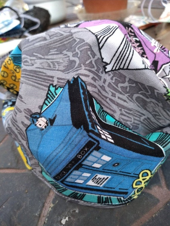 Dr. Who Handsewn Cotton Washable Mask